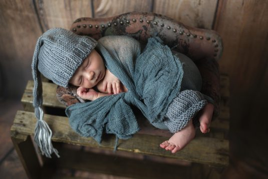 Komfort snu niemowlaka